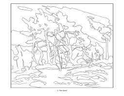 georgia o keeffe coloring pages tom thomson coloring book