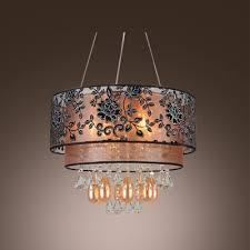 black crystal pendant light fashion style chandeliers pendants mini pendants crystal lights