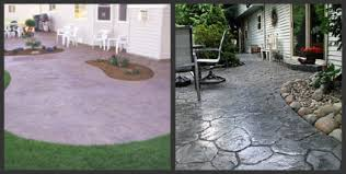 Backyard Stamped Concrete Patio Ideas Stamped Concrete Patios Design Tips For A Stamped Concrete Patio