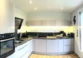 spot dans cuisine spot led encastrable pour cuisine spot led encastrable plafond