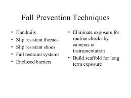 Handrail Requirements Osha Osha Regulations Fall Protection