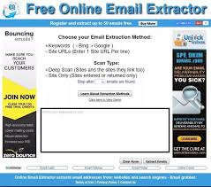 free finder websites which email extractor software is best that can extract email