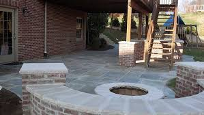 Stone Patio With Fire Pit Pittsburgh Fire Pit Stone Backyard Fire Pit