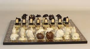 hand carved chess sets tagua nut