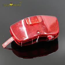 rear bike light rack mount leds red safety bike light flashlight aa replace battery mount on