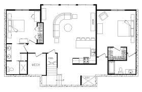modern cabin floor plans modern cabin floor plans home design