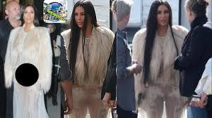 kim kardashian llega a grabar sin ropa interior kim kardashian