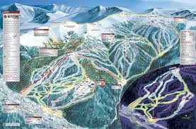 Colorado Tourism Map by Keystone Ski Resort Colorado Ski Areas