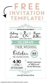 Wedding Invitation Sample Printable Wedding Stationery Free Printable Wedding Invitation