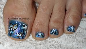 toes art design pedicure tutorial vegan friendly midnight flowers