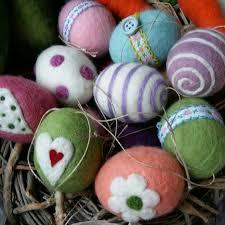 felted easter eggs colorful felt eggs felted easter eggs goodbye winter eggs