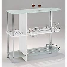 Glass Bar Table Brand Furniture Bar Table With Two Tempered