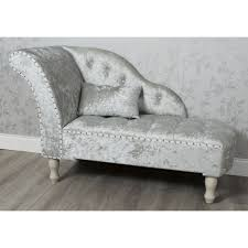 Velvet Chaise Lounge Crushed Velvet Chaise Lounge Grey Allens