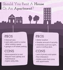 pros and cons of renting a house should you rent a house or an apartment rent jungle