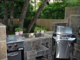 kitchen outdoor kitchen with pizza oven grill island kits mobile