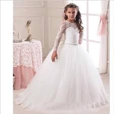 robe mariage fille robe de fille de fleur en dentelle pour mariage filles robe de