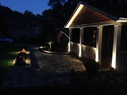 Outdoor Led Patio String Lights by 53 Patio Lighting Trex Deck With Post And Riser Lights Michlmi Org