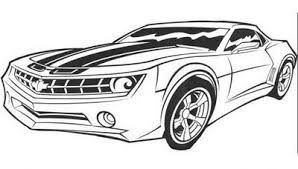 bumblebee camaro coloring pages bumblebee transformers coloring