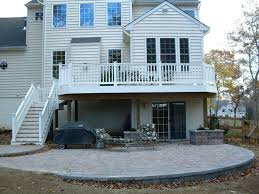 Beautiful Decks And Patios by Deck Patio Combo Radnor Decoration