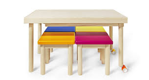 childrens table and stools bawa a multifunctional table for kids petit small