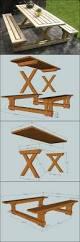 best 25 pallet picnic tables ideas on pinterest picnic tables