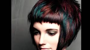 short hair with highlights ideas for women youtube