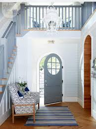 House Tours by House Tour Neutral Nautical Lake House Cottage Style House
