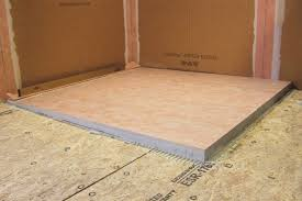 schluter kerdi shower l ls prefabricated substrates shower