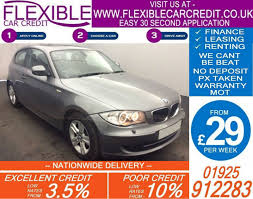 lease a bmw with bad credit 2010 bmw 120d 2 0 se bad credit car finance from 29 p wk