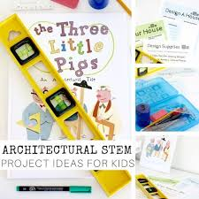architectural stem project kids pigs