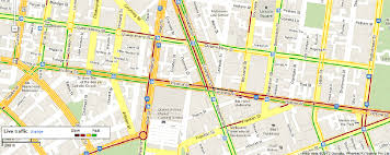 traffic map part of a maps live traffic map color coded is the