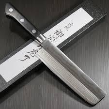 tojiro japanese chef knives tojiro dp 37 layer damascus nakiri 165mm