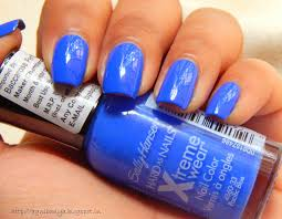 sally hansen hard as nails xtreme wear nail color 420 pacific blue