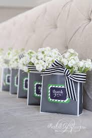 bridal shower gift bags bridal shower gift bags flowers wedding decor toronto a
