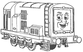 thomas friends coloring pages