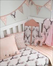 Nature Themed Crib Bedding Bedroom Deer Crib Bedding For Boy Modern Woodland Crib Bedding