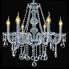 Marie Chandelier Marie Therese 5 Light Crystal Chandelier Searchlight Amazon Co