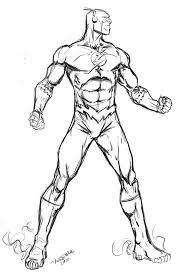 flash superhero coloring pages az coloring pages coloring