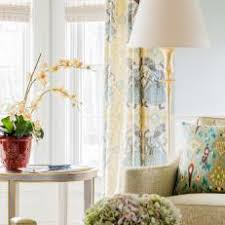 Yellow Patterned Curtains Photos Hgtv