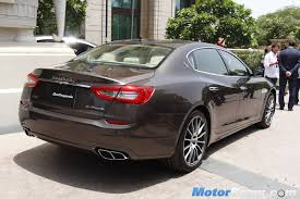 maserati chennai maserati officially re enters india with launch of 4 models