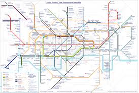 Mbta System Map by Map Of London Subway System My Blog