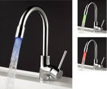 led kitchen faucets kitchen faucet with led light kitchen faucet with led light