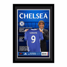 Chelsea F C Chelseafc Com Chelsea Fc Magazine Front Cover Photo Framed Chelseafan12