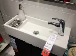 Ikea Bathrooms Ideas Bathroom Is Partially Under The Stairs A Small Sink For A Small