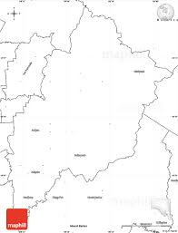 Blank Map Of Australia by Blank Simple Map Of Adelaide Hills
