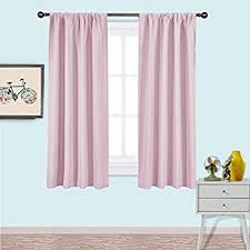 Blackout Curtains For Baby Nursery Amazon Com Nicetown Blackout Curtains For Girls Room Nursery