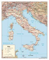 Trieste Italy Map by Large Map Of Italy Printable Deboomfotografie