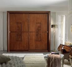 Sliding Wooden Closet Doors Sliding Wood Closet Doors Paint Door Design Wonderful