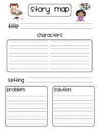 free character vs problem graphic organizer language arts