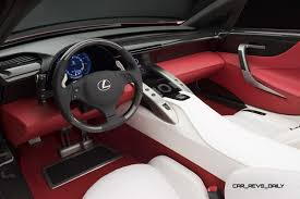 lexus lfa concept concept to reality part two 2007 lexus lf a roadster